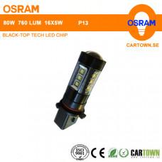 LED OSRAM P13 Vit  (1st)