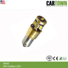 LED CANBUS C9W BA9S Vit 2st