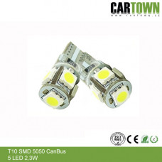 LED CANBUS T10/W5W 5 SMD (2st)