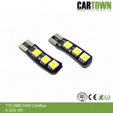 LED CANBUS T10/W5W WG 6SMD (2st)