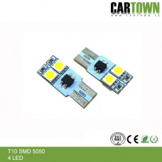LED CANBUS T10/W5W 4SMD Mini (2st)