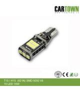 LED CANBUS T15W / H15 (921) Vit 2st