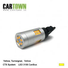 LED CANBUS 3156 CTX Gul 1st