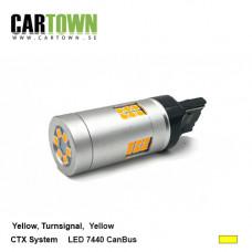 LED CANBUS 7440 CTX Gul 1st