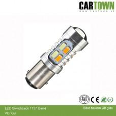 LED Switchback 1157/BAY15 SMD Vit/Gul Gen3 (1st)
