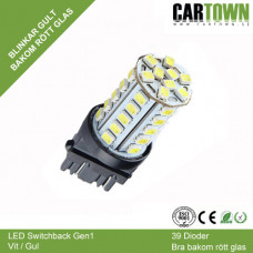 LED Switchback 3157/T25 Vit/Gul Gen1 (1st)