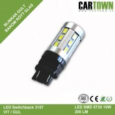 LED Switchback 3157/T20 SMD Vit/Gul Gen5 (1st)