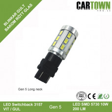 LED Switchback 3157/T25 SMD Vit/Gul Gen5-L (1st)