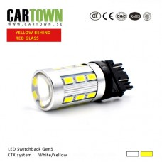 LED Switchback 3157/T20 SMD Vit/Gul Gen5 (1st)