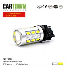 LED Switchback 3157/T20 CE Vit/Gul Gen5 (1st)