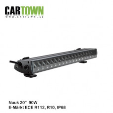 "LED Ljusramp Nuuk 90W, 20"" 12-30v"