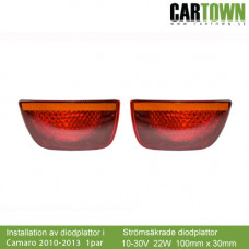 Chevrolet Camaro Inskick 2010-2013 LED i bakljus