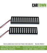 LED-Plattor Gul Blinkers lamphusmontering (1par)
