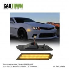 Sidomarkering Camaro Gen 5 Gula Dubbelrad LED