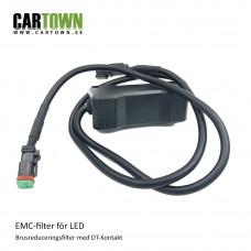 EMC Brusreduceringsfilter med DT kontakt