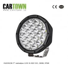 Extraljus HUDSON 7″ extraljus LED 9-32V DC, 90W, IP68