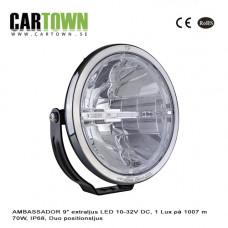 Extraljus AMBASSADOR 9″ LED 10-32V DC