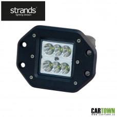 Arbetslampa LED för inbyggnad. 10-32V 18W