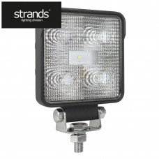 Arbetslampa LED kvadrat 9W