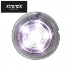 positionslampa. Viking vit 6 LED. Klar lins. (1st)